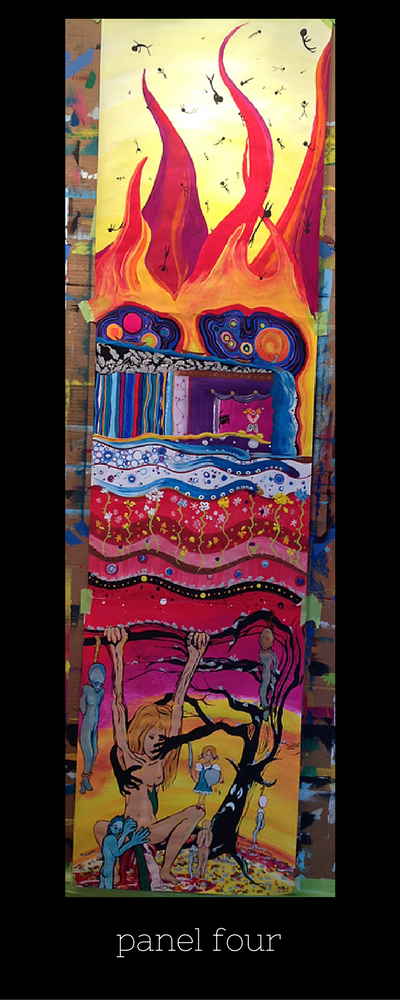 The Painting Experience Blog   A Glimpse of the Process (Anne Pechovnik)