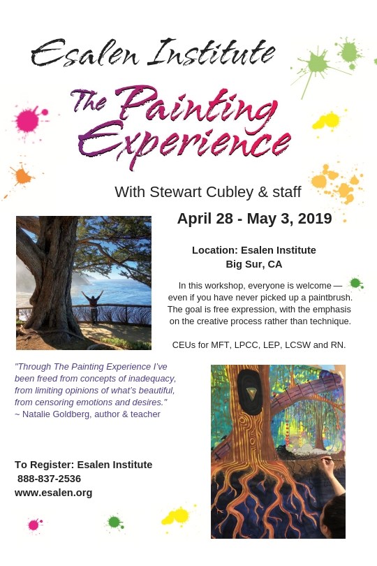 Esalen May 2019 PopUp