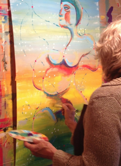 Working From the Body: Feeling and Painting | The Painting Experience Blog