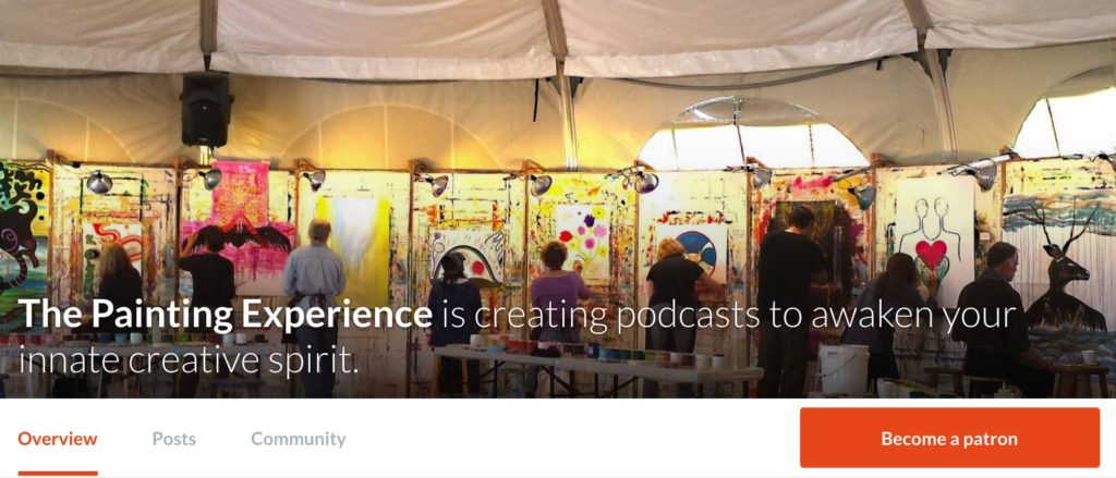 The Painting Experience Podcast on Patreon