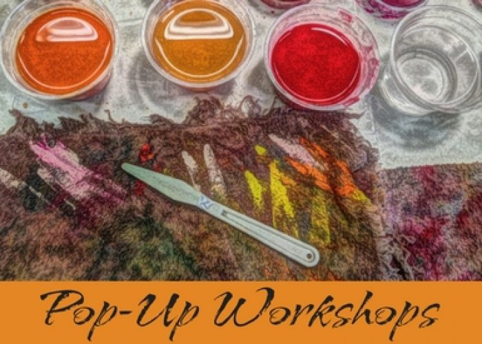Pop-Up Workshops With The Painting Experience