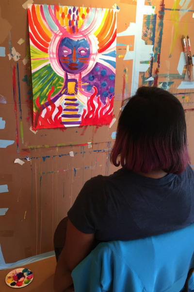 Process and Presence | The Painting Experience Blog