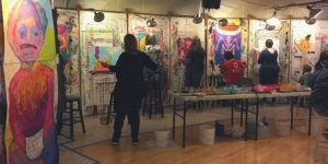 Process Painting Studio at The Esalen Institute | The Painting Experience