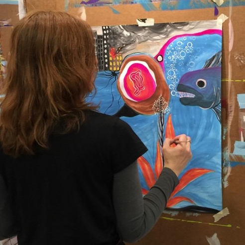 Don't Paint Whale -- Paint Whaleness!   The Painting Experience Blog