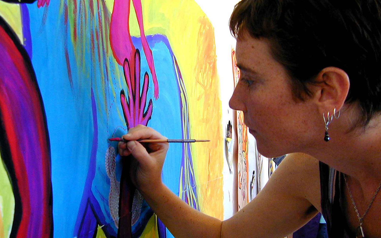 Photo of A Passionate Process Painter
