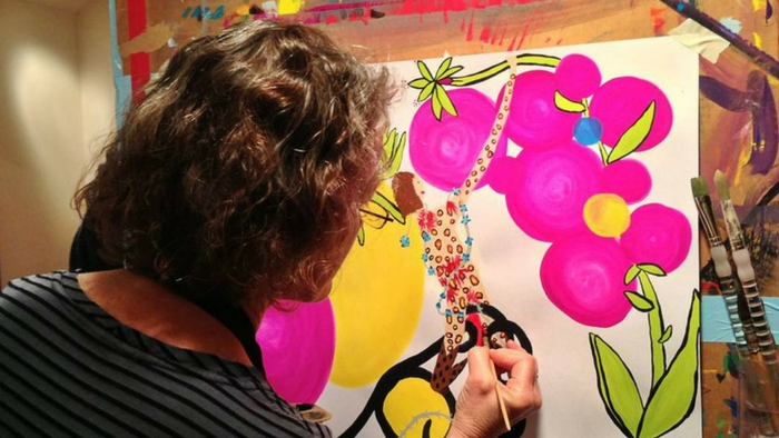 For Therapists: Letting Creativity Support Your Practice   The Painting Experience Blog