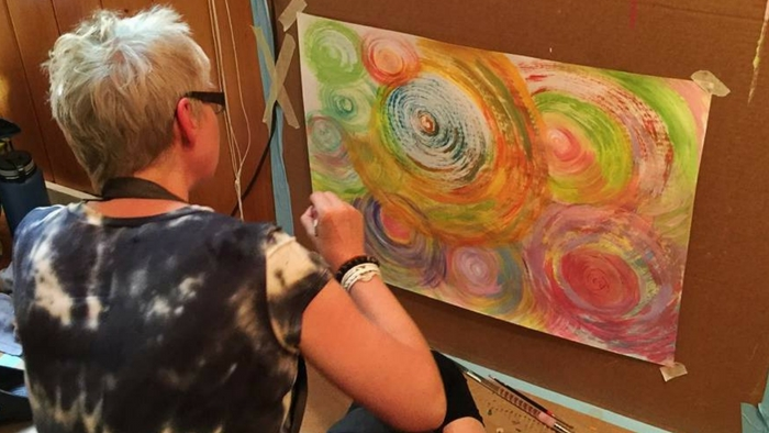 Creative Support for Therapists | The Painting Experience Blog