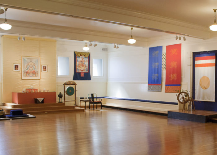 The Painting Experience at Shambhala Meditation Center in Berkeley